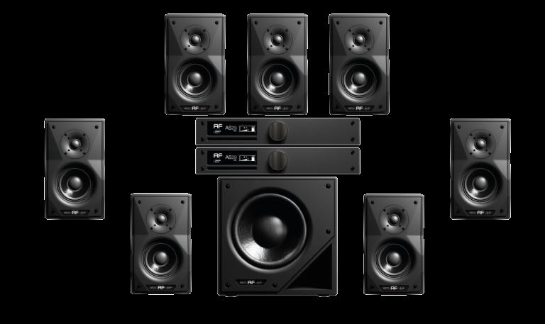 sistema as29 studio monitor 5.1
